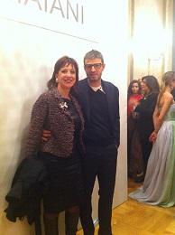 Con Vittorio Camaiani per i complimenti di rito (meritatissimi!!)