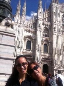 selfie a piazza duomo