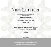 1 Invito Nino Lettieri